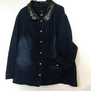 Womens Catherines jean jacket